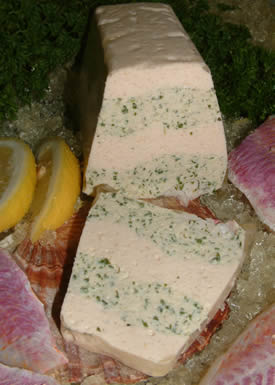 Nos Terrines:Fennel red mullet mousse