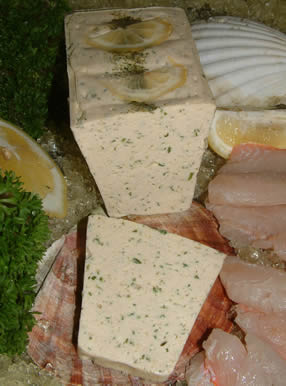 Nos Terrines:Trout with chives